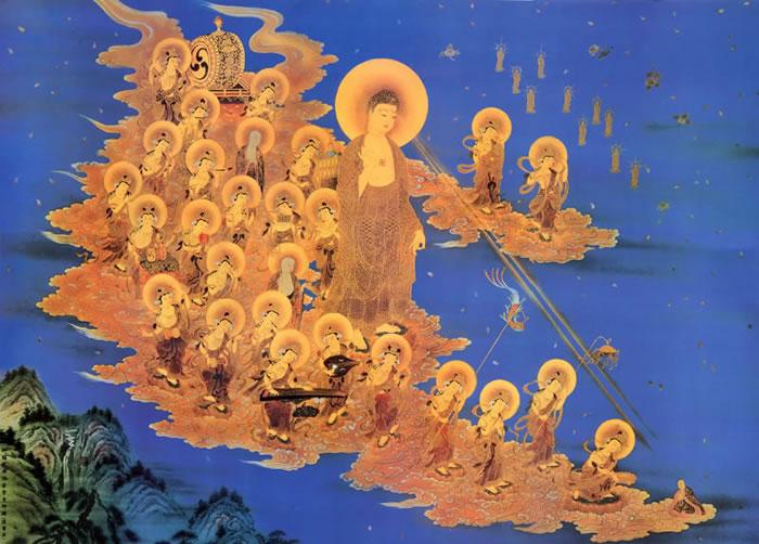 Amitabha & Bodhisattvas