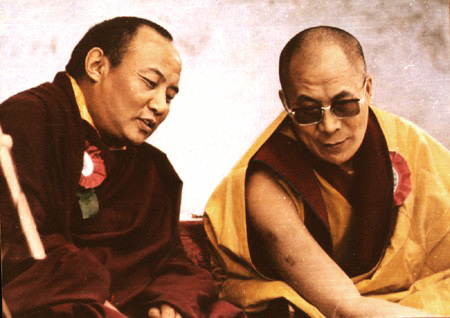 16th Karmapa and 14th Dalai Lama