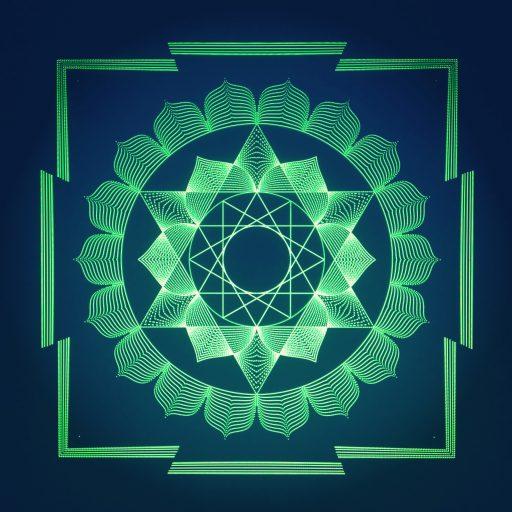 Buddha Yantra - Math Art