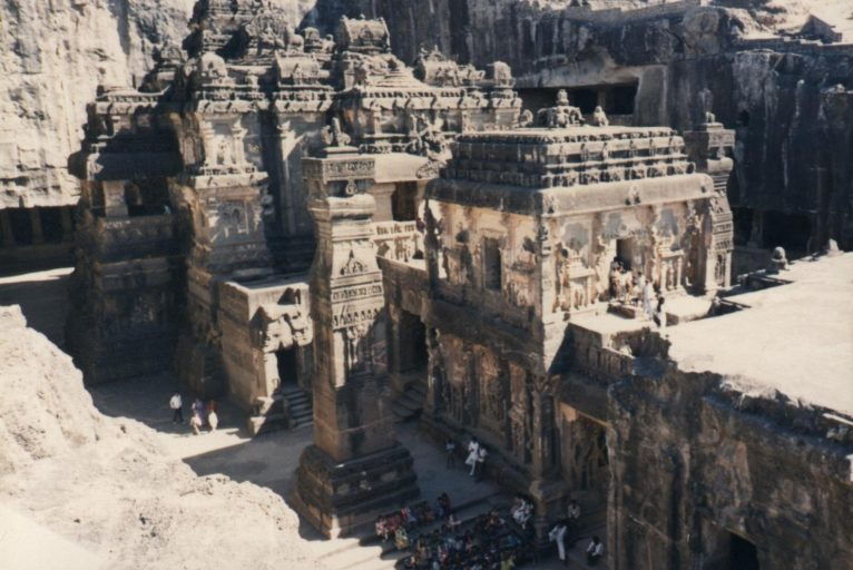 Kailasa Temple, Ellora Caves, Maharashtra, India
